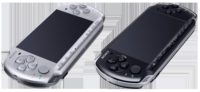PSP konzole