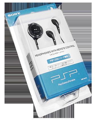 PSP sluchátka