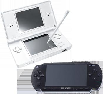 PSP nebo Nintendo DS